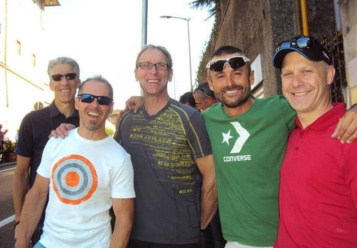 "Dalla Lontana Thunder Bay (Canada) In Romagna: Dave, Will, Pete, Tom And Roy Riding With The ""Padre"""